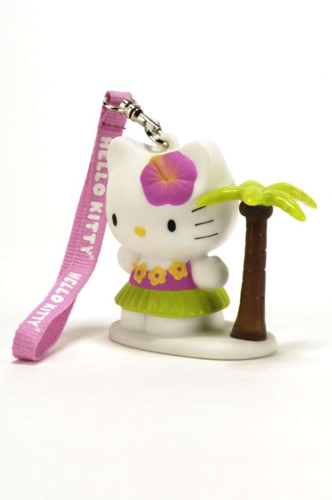 lampe d corative 8 cm hello kitty beach madcow. Black Bedroom Furniture Sets. Home Design Ideas