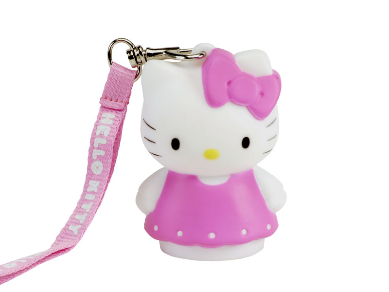 lampe d corative 8 cm hello kitty dress madcow. Black Bedroom Furniture Sets. Home Design Ideas